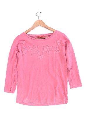 edc by Esprit Shirt Größe XS 3/4 Ärmel pink aus Baumwolle