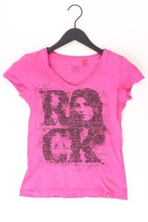 edc by Esprit V-Neck Shirt light pink-pink-pink-neon pink cotton