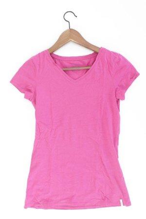 edc by Esprit Shirt mit V-Ausschnitt Größe XS Kurzarm pink aus Baumwolle