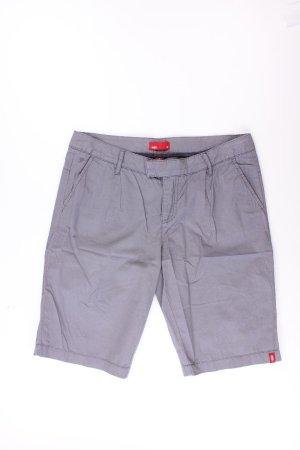 edc by Esprit Shorts Größe 38 grau aus Baumwolle