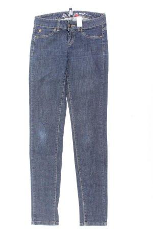 edc by Esprit Skinny Jeans Größe 34 blau aus Baumwolle
