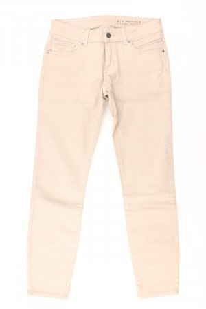 edc by Esprit Skinny Jeans Größe 34 creme aus Baumwolle