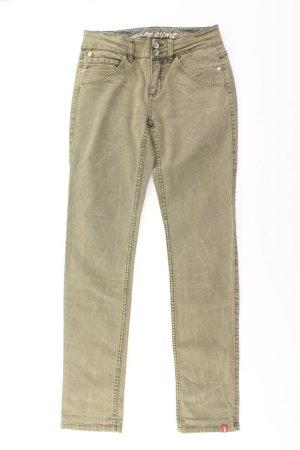 edc by Esprit Skinny Jeans Größe 36 olivgrün aus Baumwolle