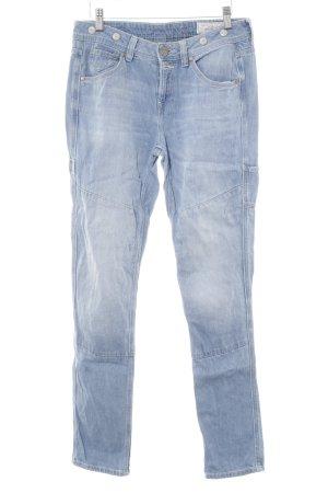 edc by Esprit Skinny Jeans hellblau Washed-Optik