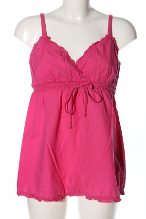 edc by Esprit Spaghettiträger Top pink Casual-Look