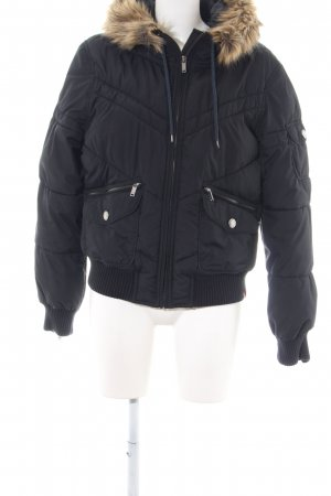 edc by Esprit Steppjacke schwarz Casual-Look