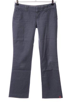 edc by Esprit Pantalone jersey grigio chiaro motivo a righe stile professionale