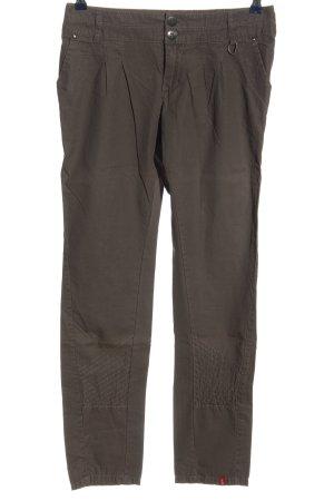 edc by Esprit Pantalone jersey marrone stile casual