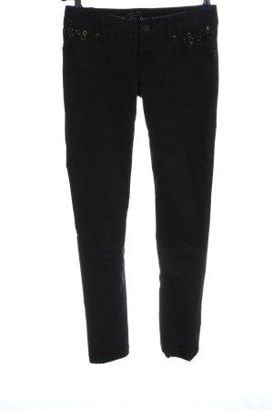 edc by Esprit Pantalone jersey nero stile casual