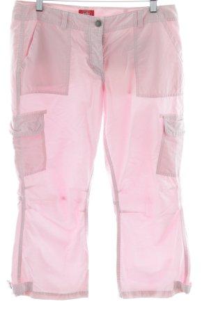 edc by Esprit Pantalone jersey rosa chiaro stile casual