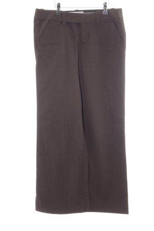 edc by Esprit Pantalone jersey talpa-marrone scuro stile classico