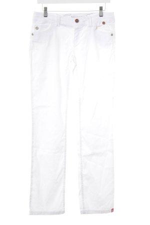 edc by Esprit Pantalone jersey bianco-bianco sporco modello web stile casual