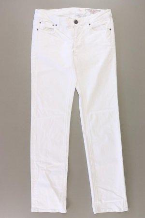 edc by Esprit Jeansy z prostymi nogawkami w kolorze białej wełny Bawełna