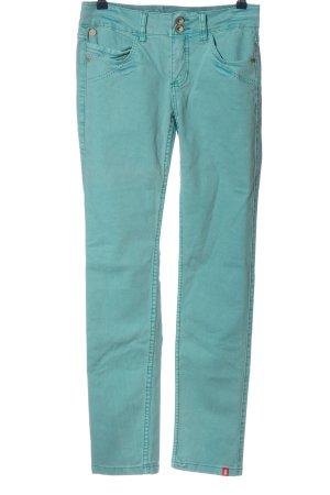 edc by Esprit Jeansy z prostymi nogawkami turkusowy W stylu casual