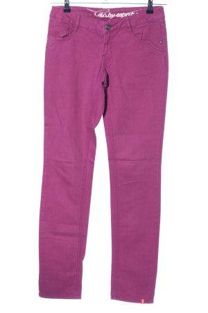 edc by Esprit Jeansy z prostymi nogawkami różowy W stylu casual