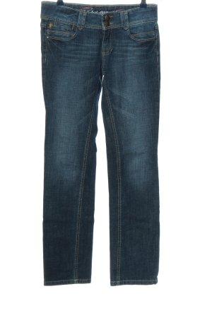 edc by Esprit Jeansy z prostymi nogawkami niebieski W stylu casual