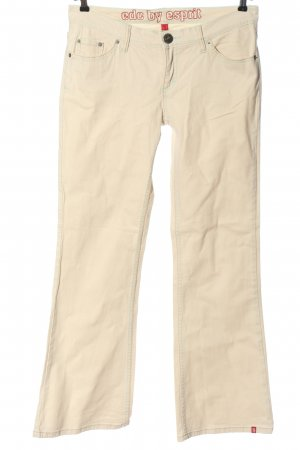 edc by Esprit Boot Cut Jeans creme Casual-Look