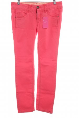 edc by Esprit Straight-Leg Jeans hellrot Casual-Look