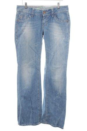 edc by Esprit Straight-Leg Jeans blau Street-Fashion-Look