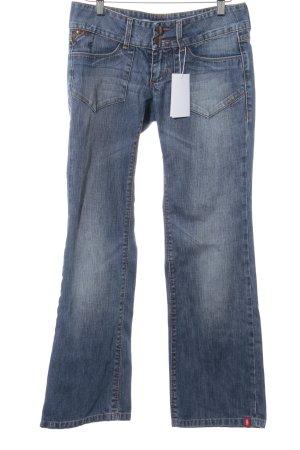 edc by Esprit Jeansy z prostymi nogawkami stalowy niebieski W stylu casual