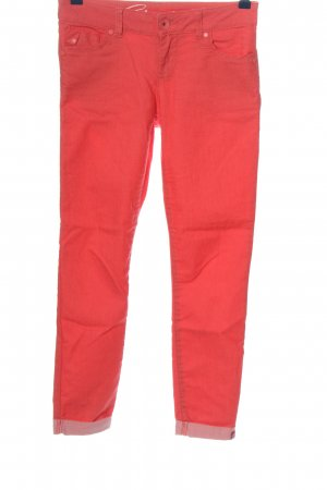 edc by Esprit Stretchhose rot Casual-Look