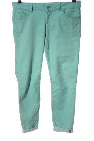 edc by Esprit Stretchhose türkis Casual-Look
