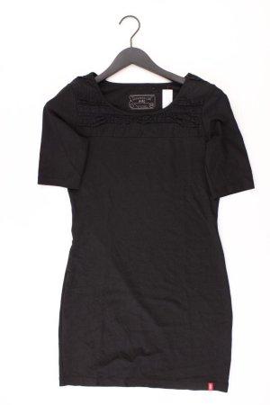 edc by Esprit Stretchkleid Größe 38 Kurzarm schwarz aus Baumwolle
