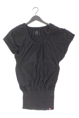 edc by Esprit Stretchkleid Größe XS Kurzarm schwarz aus Baumwolle