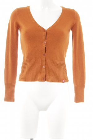 edc by Esprit Strickjacke dunkelorange Casual-Look