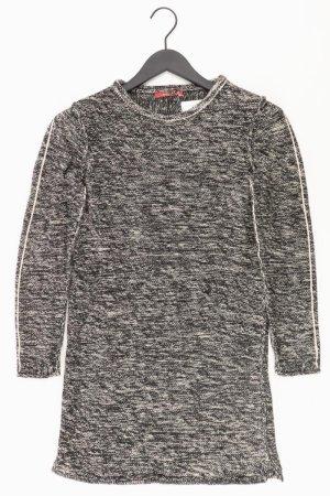 edc by Esprit Strickkleid Größe XS Langarm schwarz aus Baumwolle