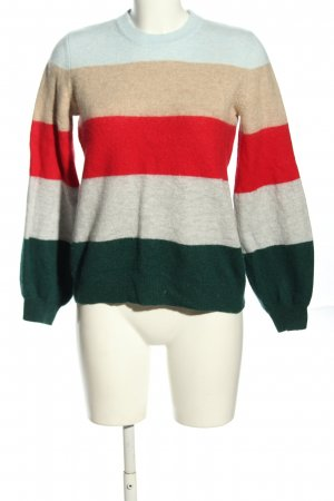 edc by Esprit Strickpullover Allover-Druck Casual-Look