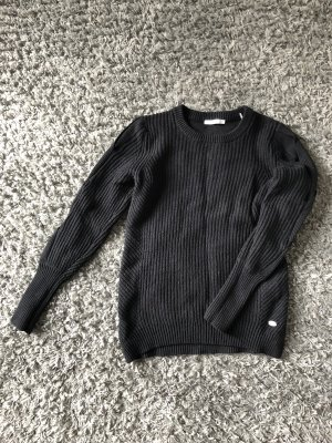 edc Pullover a maglia grossa nero