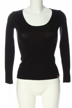 edc by Esprit Knitted Jumper black casual look