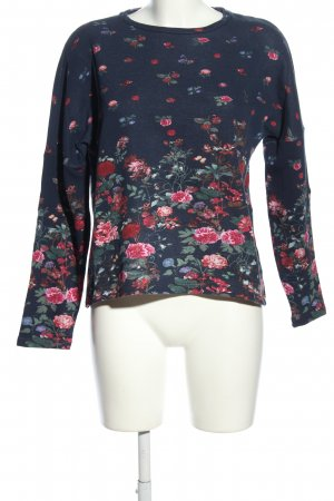 edc by Esprit Sweatshirt Blumenmuster Casual-Look