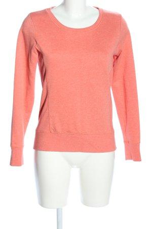 edc by Esprit Sweatshirt hellorange meliert Casual-Look
