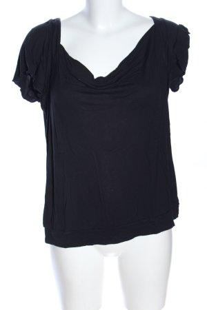 edc by Esprit T-Shirt schwarz Casual-Look