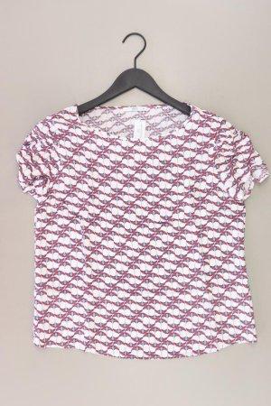edc by Esprit T-Shirt Größe M Kurzarm weiß aus Viskose
