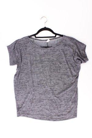 edc by Esprit T-Shirt Größe XS Kurzarm grau aus Polyester