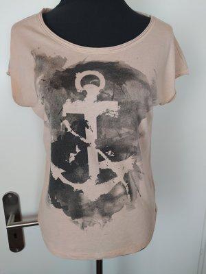 EDC by Esprit T-Shirt in rartem Altrosé, XS wie 36