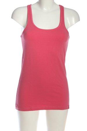 edc by Esprit Camiseta sin mangas rosa look casual