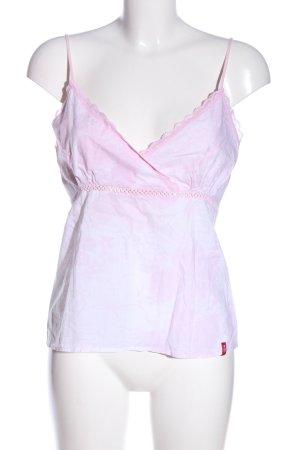 edc by Esprit Trägertop pink abstraktes Muster Casual-Look
