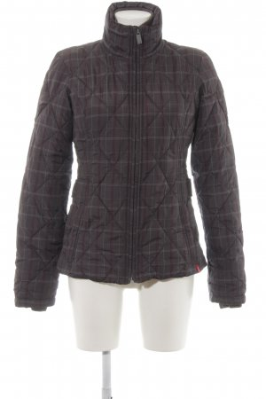 edc by Esprit Übergangsjacke anthrazit-purpur Casual-Look