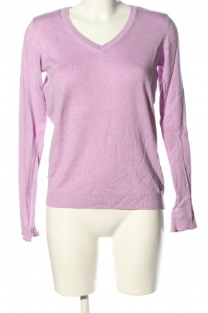 edc by Esprit V-Ausschnitt-Pullover pink Casual-Look