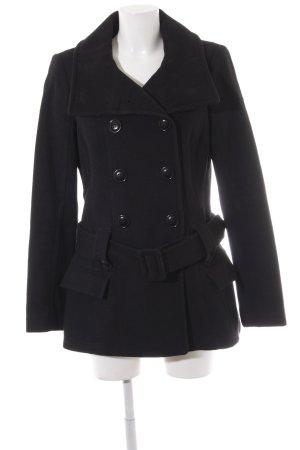 edc Heavy Pea Coat black