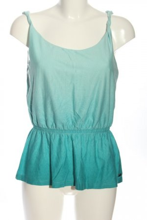 edc Camisole turkoois casual uitstraling