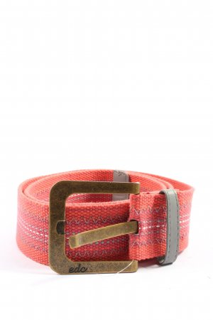 edc Canvas Belt pink-white casual look