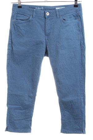 edc Caprihose blau Casual-Look
