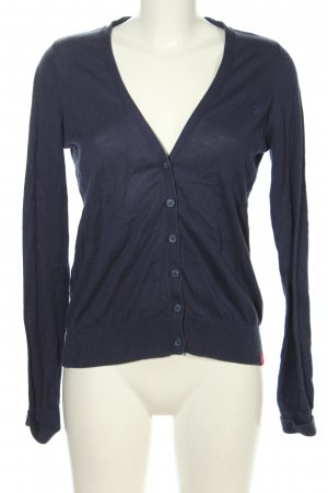 edc Cardigan blau Business-Look