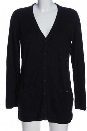 edc Cardigan schwarz Business-Look
