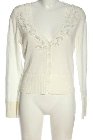 edc Kardigan biały W stylu casual